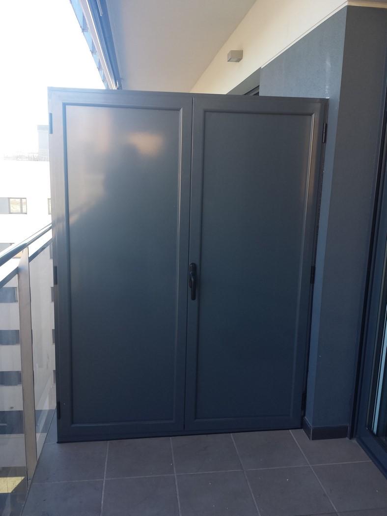 Armarios j julve carpinter a de aluminio - Armario balcon ...